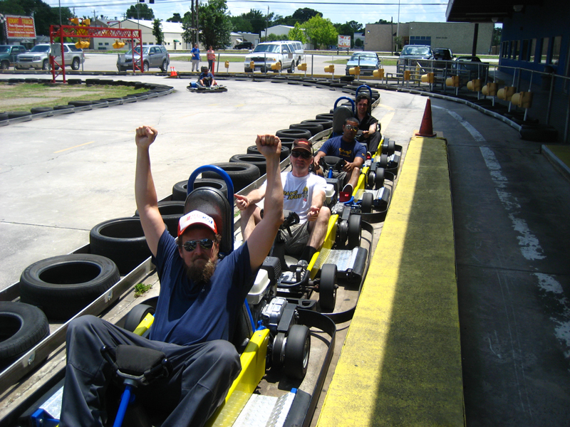 Speedy\'s Go-Kart session